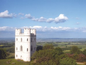 1 Bedroom Romantic Castle with Panoramic Dartmoor Views near Exeter, Devon, England