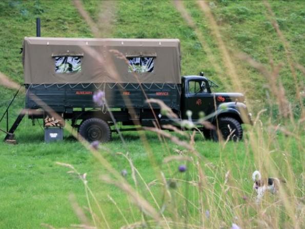 Truck conversion in Scotland