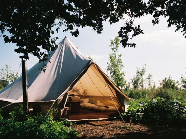 Glamping in Wiltshire