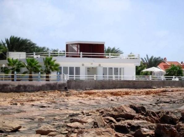 Art deco villa by the sea in Cape Verde