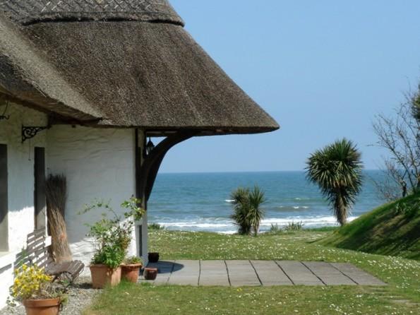 Beachfront cottage in Ireland