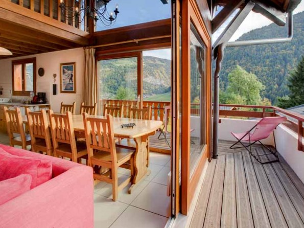 Chalet Madeleine in the Alps