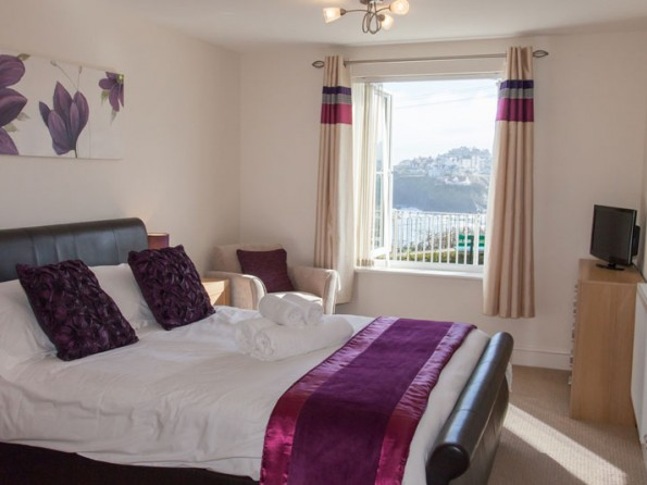 Waterfront apartment in Newquay