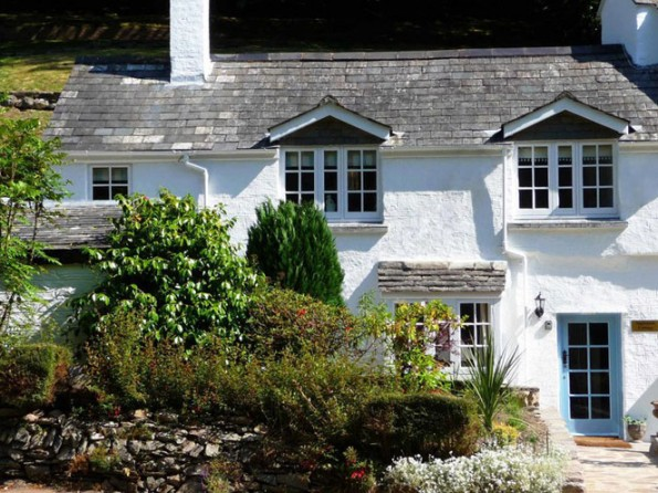 Cottage in Polperro, Cornwall