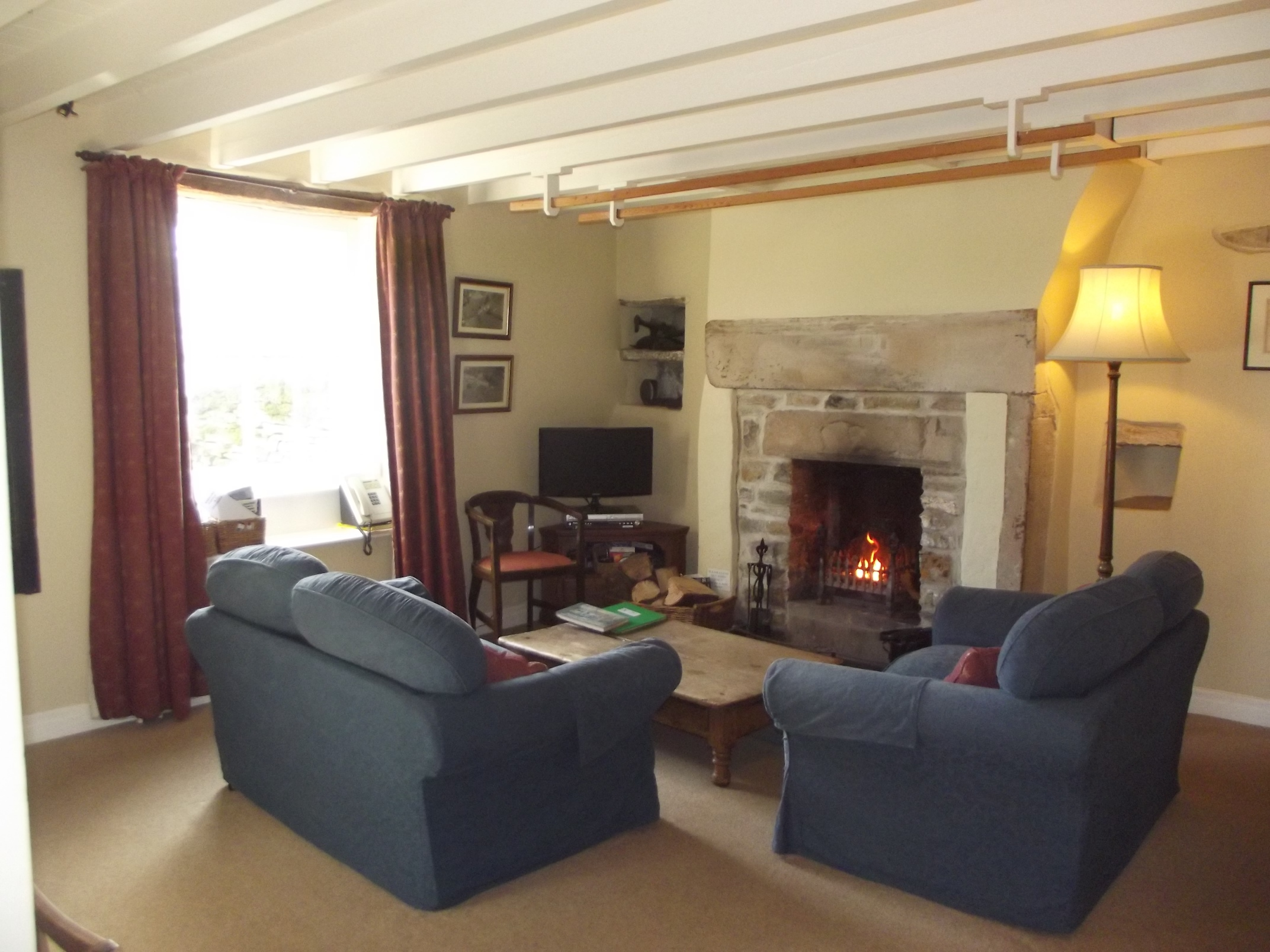 Sitting room at the Yorkshire Cottage