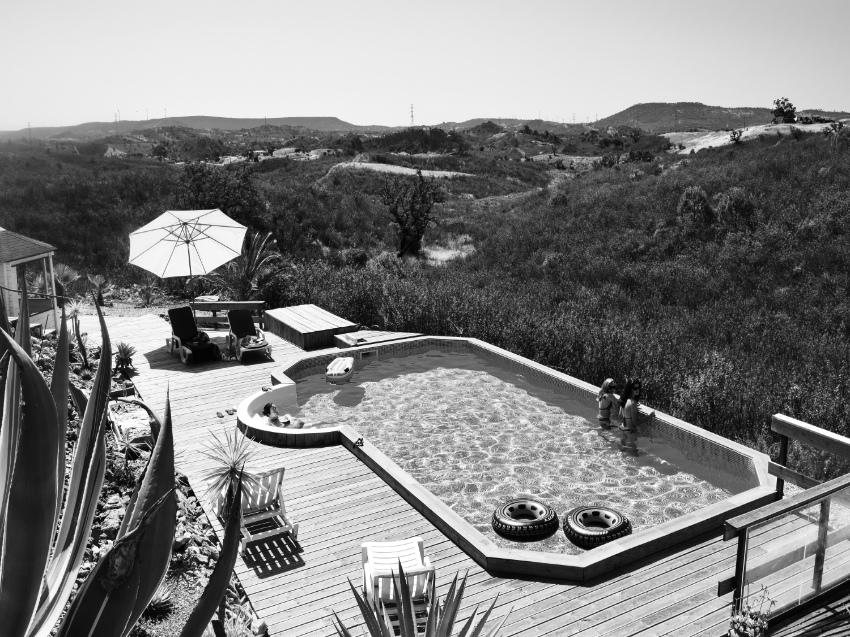 Pool at Casa da Terra