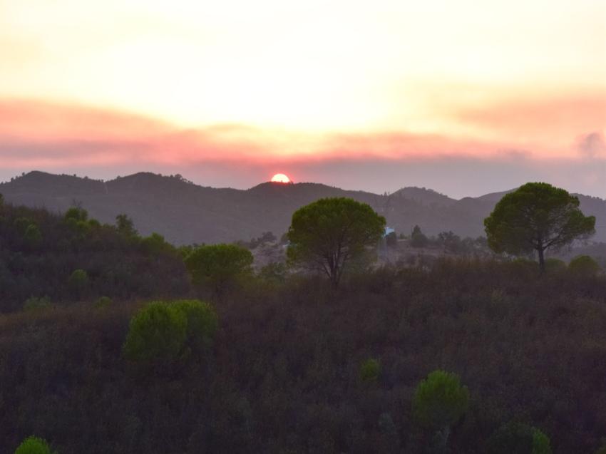 Sunset at Casa da Terra