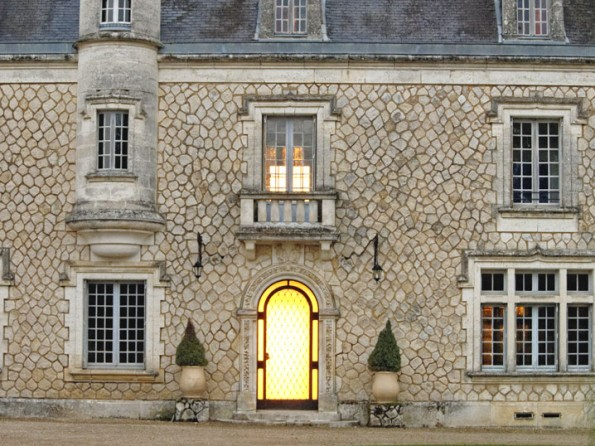 Luxury castle in France