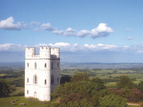 Romantic castle for 2 in Devon