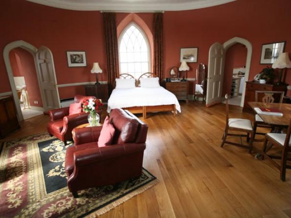 Devon castle interior