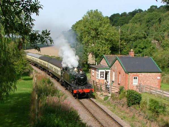 Railway Cottage in Somerset