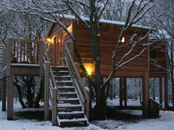 Treehouse on the Isle of Wight
