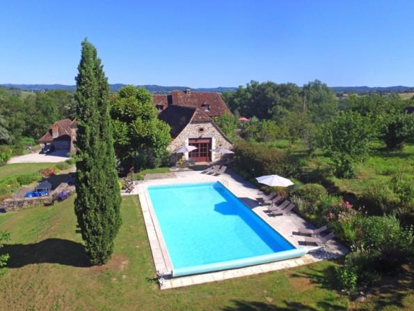 Manor house near Beaulieu sur Dordogne