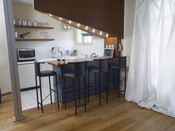 Romantic studio loft in Paris