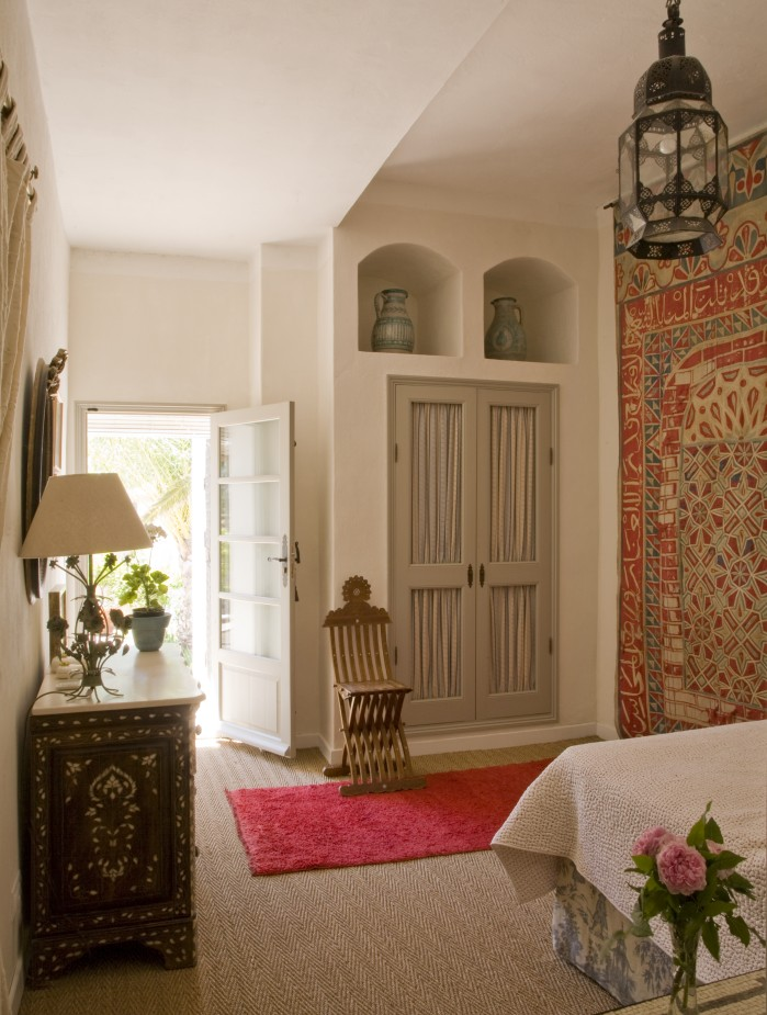 Bedroom at Casa Mosaica