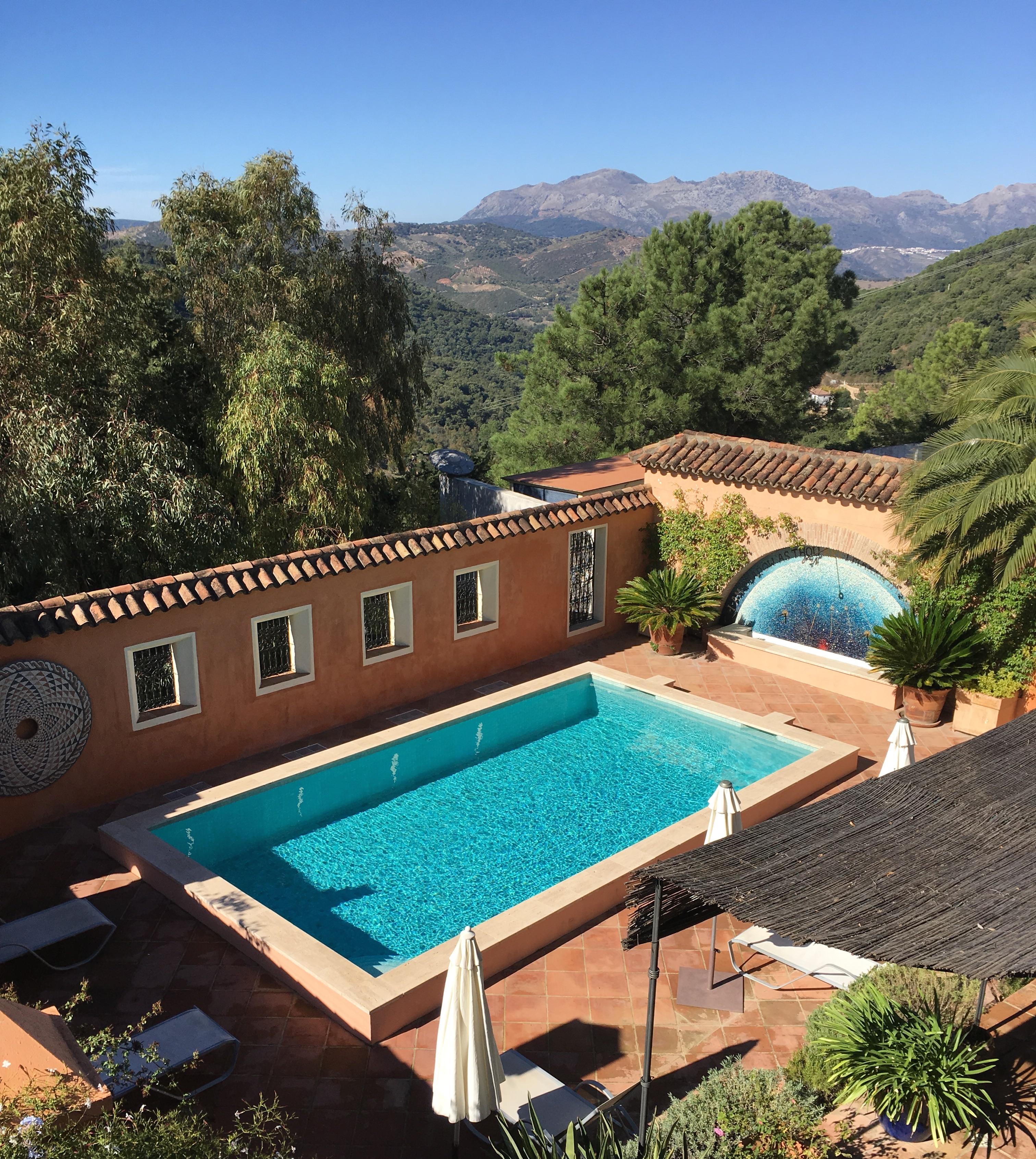 Pool at Casa Mosaica