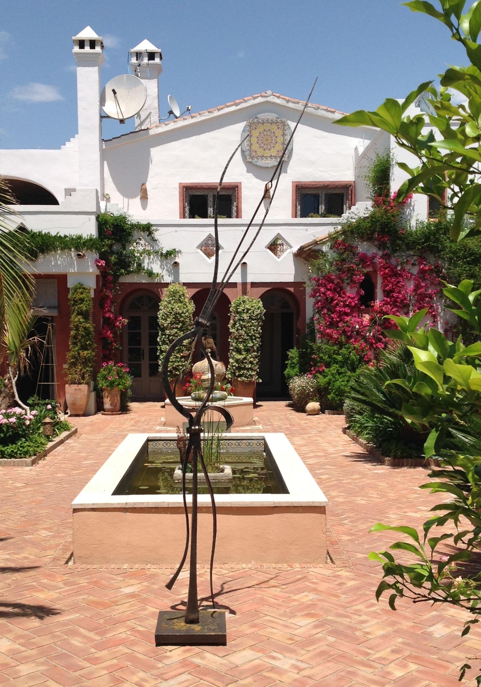 Garden at Casa Mosaica