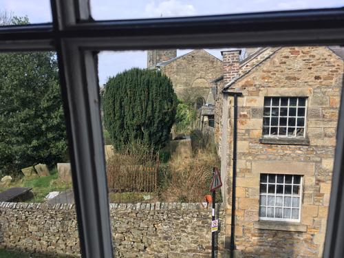Jacks Cottage window view