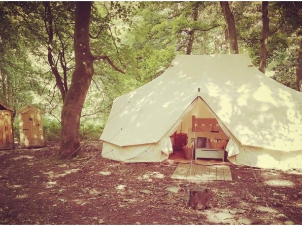 Glamping with hot tub in Lake District