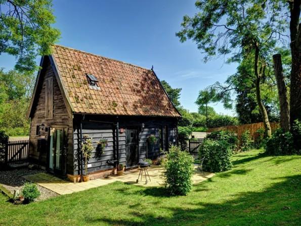Barn conversion in Suffolk