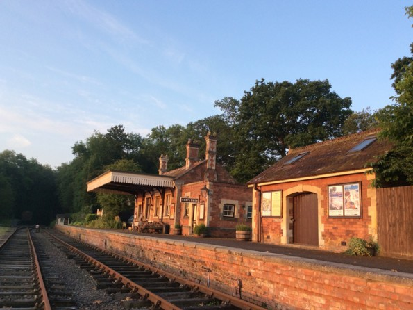 Train station in Herefordshire