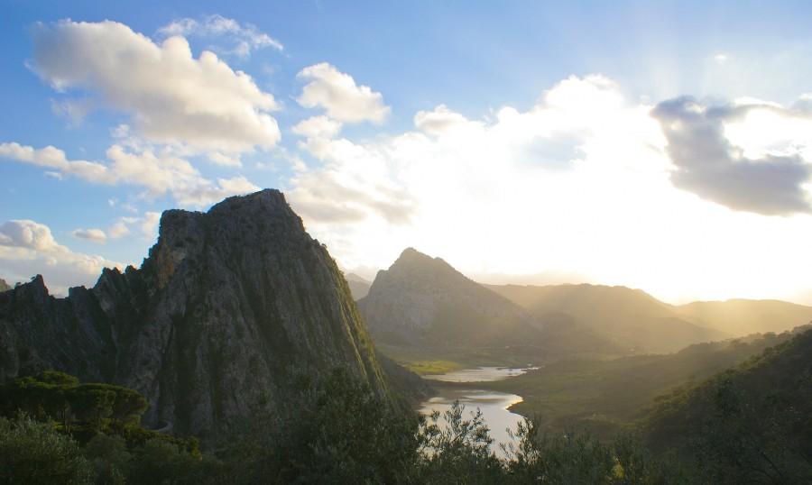 Serrania de Ronda in Andalucia