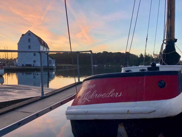 Houseboat in Suffolk