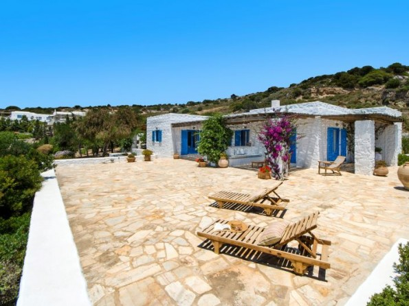 The Olive House on Paros, Greece