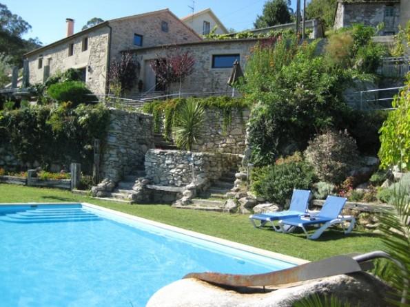 Stone villa in Galicia