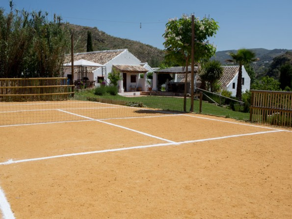 Spanish farmhouse with private tennis court