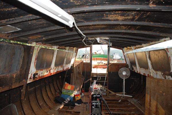 Barge renovation