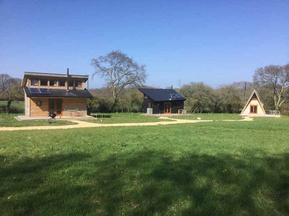 Eco retreats on the Isle of Wight