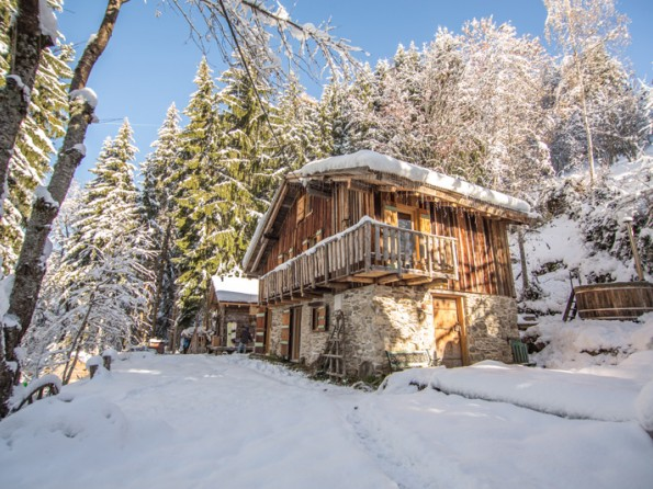 Ski chalet in the Rhone Alps