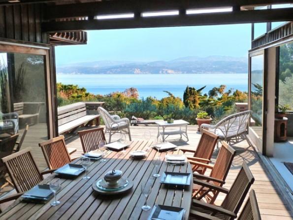 Seafront villa in Corsica