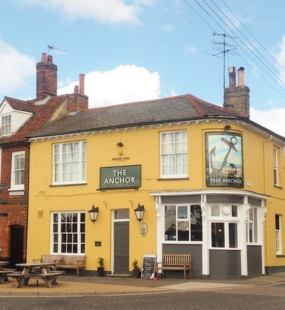 Local pubs in Suffolk