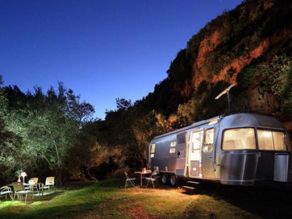Airstream in Andalucia