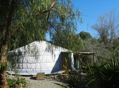 Yurt with private pool in Andalucia