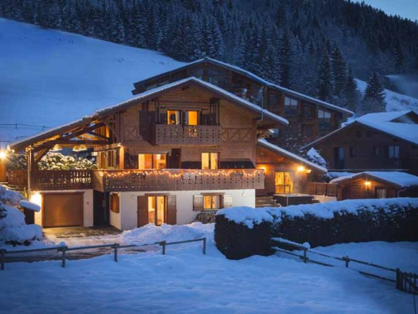 8 bedroom luxury chalet in Morzine