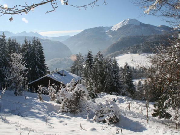 3 bedroom ski chalet in rhone alps