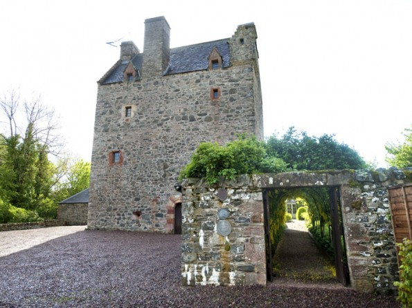 Tower house in Scotland