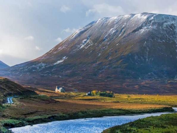 Scottish Highlands wilderness