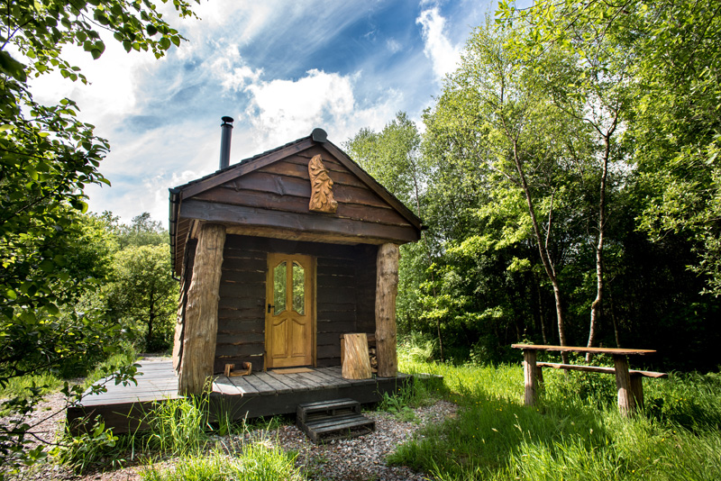 Off Grid Cabin in Devon