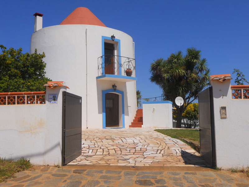 Converted windmill in Portugal