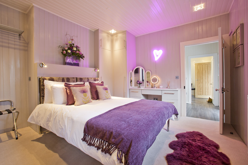 Bedroom at the Invergarry