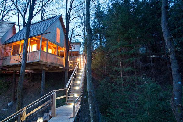 treehouse in Slovenia